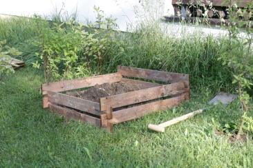 Holz-Kompost