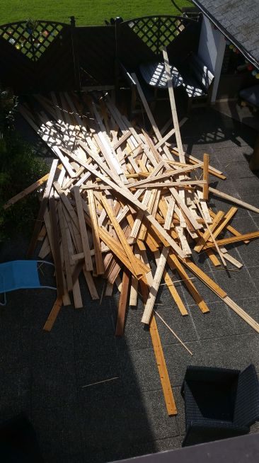 Holzdecke